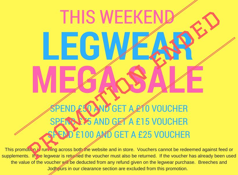 Legwear Mega Sale