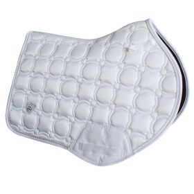 Woof Wear Vision Close Contact Saddle Pad - White