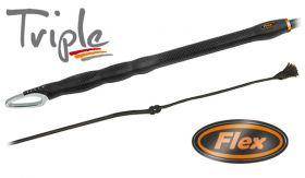 Fleck TRIPLE Flex Dressage Whip 03022