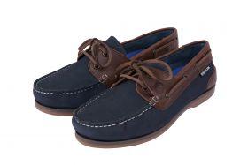 Dublin Broadfield Arena Shoes Navy - Chestnut