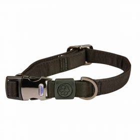 Weatherbeeta Elegance Dog Collar-Black-Extra Small Clearance