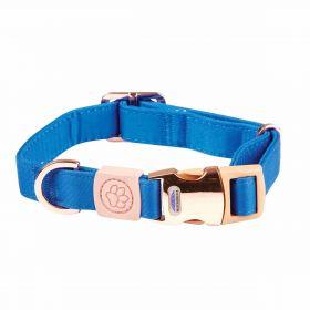 Weatherbeeta Elegance Dog Collar-Blue-Small - WeatherBeeta