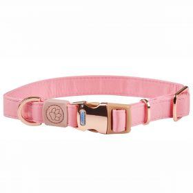 Weatherbeeta Elegance Dog Collar-Pink-Large Clearance