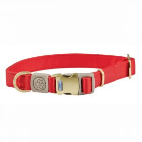 Weatherbeeta Elegance Dog Collar - Red