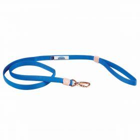 Weatherbeeta Elegance Dog Lead-Blue-Small - WeatherBeeta