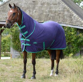 WeatherBeeta Fleece Cooler Combo Neck - Bright Purple/Green