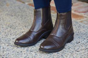 Dublin Altitude Zip Paddock Boots Childs - Brown - Dublin