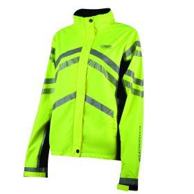 Weatherbeeta Reflective Lightweight Waterproof Jacket - Childs Yellow