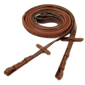 Schockemohle Premium Rubber Reins with Hook and Stud