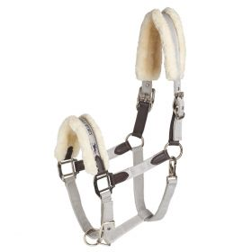 Schockemohle Memphis Safety Style Headcollar-Silver-Pony Clearance - Schockemohle