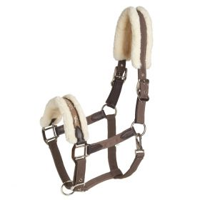 Schockemohle Memphis Safety Style Headcollar-Taupe-Pony Clearance - Schockemohle