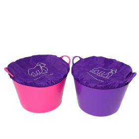 Red Gorilla Breakfast & Dinner Tub Covers 2 Pack Purple