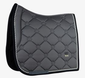 PS of Sweden Monogram Dressage Saddle Pad - Anthracite