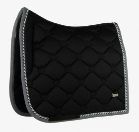 PS of Sweden Monogram Dressage Saddle Pad Black