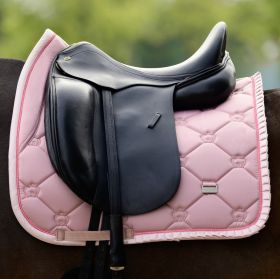 PS of Sweden Ruffle Dressage Saddle Pad - Pink