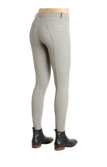 Montar Aria Ladies Breeches - Silicone Knee Patch Grey