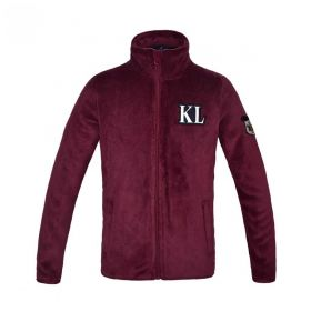 Kingsland KLeyra Junior Coral Fleece- Burgundy-5-6 Years - Europe 110-116cm Clearance