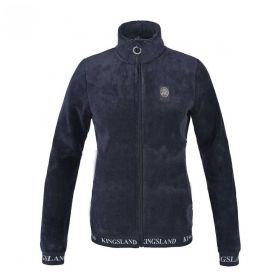 Kingsland KLdekatja Ladies Coral Fleece Jacket Navy