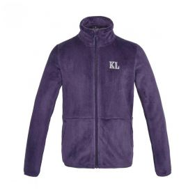 Kingsland KLdane Junior Coral Fleece Jacket-Lilac-7-8 Years - Europe 122-128cm Clearance