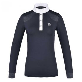 Kingsland KLdarlene Ladies Technical Show Shirt-Navy-Large Clearance