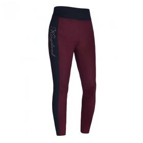 Kingsland KLkarina Ladies F-tec3 Tights - Red Port Royal-Large 14-16 Clearance