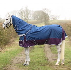 DefenceX System 0 Turnout Rug with Detachable Neck Cover