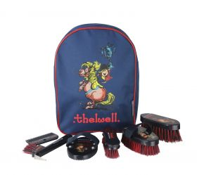 Hy Equestrian Thelwell Collection Complete Grooming Kit Rucksack - HY