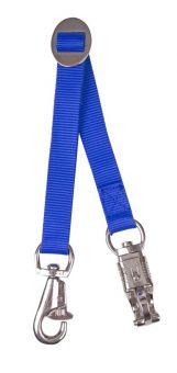 Harlequin Trailer Tie Blue