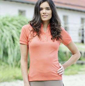 Covalliero Polo Shirt - Coral Pink