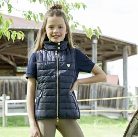 Covalliero Childs Quilted Waistcoat SS21 - Navy