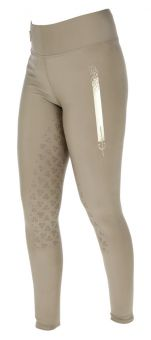 Covalliero Childs Sporty Riding Tights-Wood-8-9yrs Clearance - Covalliero