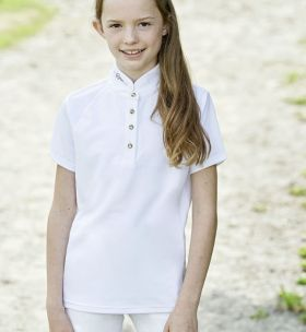 Covalliero Childs Competition Shirt - Navy - Covalliero