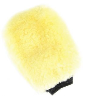 Lincoln Sheepskin Grooming Mitt - Natural Wool