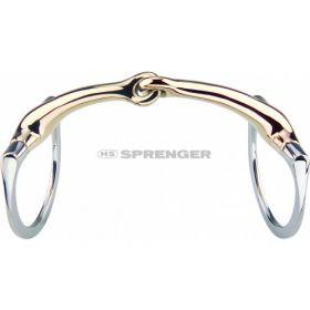 Sprenger Dynamic RS Bradoon Eggbutt Style Single Jointed Bit