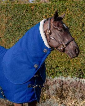 LeMieux Four Seasons Neck Cover  Benetton Blue