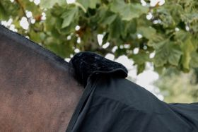 Kentucky Horse Bib Wither Protection - Black