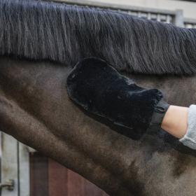 Grooming Deluxe Sheepskin Grooming Glove