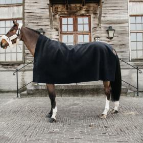 Kentucky Heavy Fleece Rug Square - Black
