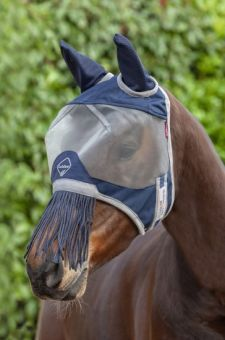 LeMieux Armour Shield Fly Protector Defender Mask (With Ears and Nose Fringe)