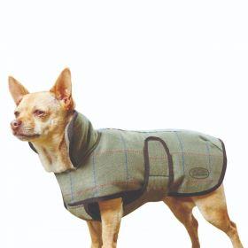 Weatherbeeta Tweed Dog Coat II - Olive