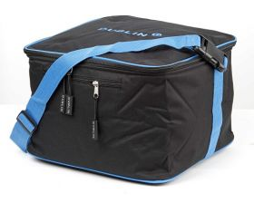 Dublin Imperial Hat Bag Black-Blue