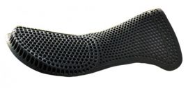 Acavallo Gel Pad and Rear Riser  Black