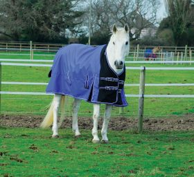 Rhinegold Elite Storm Rug With Waterproof Stretch Chest Panel-NECK COVER INCLUDED - Rhinegold