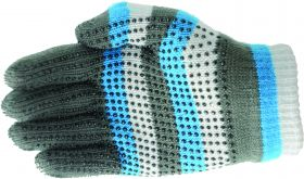 Hy5 Magic Striped Gloves - Blue/Grey