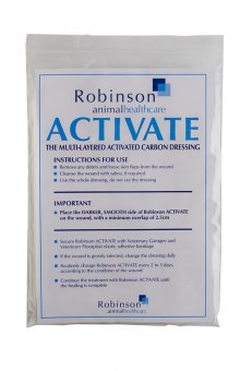 Robinsons Activate Carbon Wound Dressing 5 Pack