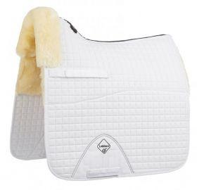 LeMieux ProSorb Dressage Square - Lambskin White