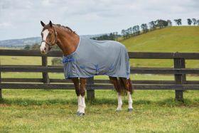 Weatherbeeta Ezi-Dry Standard Neck Cooler Rug Grey - Blue