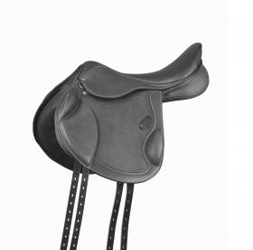 Collegiate Degree Mono Event Saddle  Black