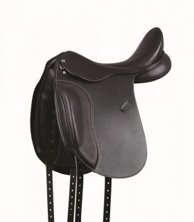 Collegiate Lectern Dressage Saddle Black
