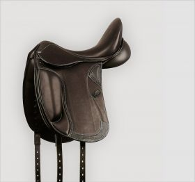 Collegiate Integrity Mono Dressage Saddle Brown